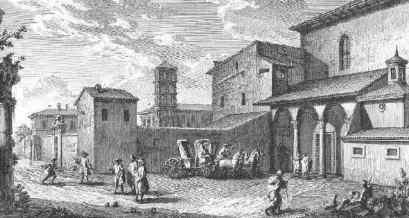 La Basilica di S. Sabina e i suoi sotterranei