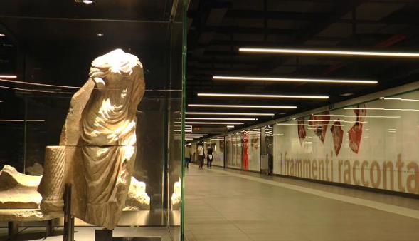 La nuova Stazione-Museo di San Giovanni Metro C