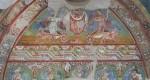 affreschi aula gotica