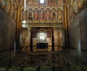 La Scala Santa, la Cappella del Sancta Sanctorum e i sotterranei