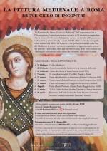 pittura medievale locandina