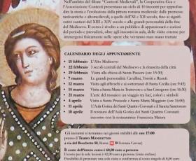 Conferenze e visite alla riscoperta della pittura medievale