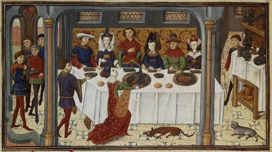 Il bianco mangiare - A pranzo con i Monaci