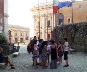 Passeggiata dal Campidoglio al Colosseo