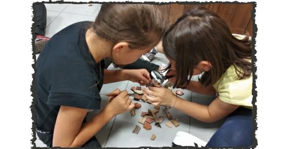Piccoli archeologi a caccia di indizi - SottoSopra