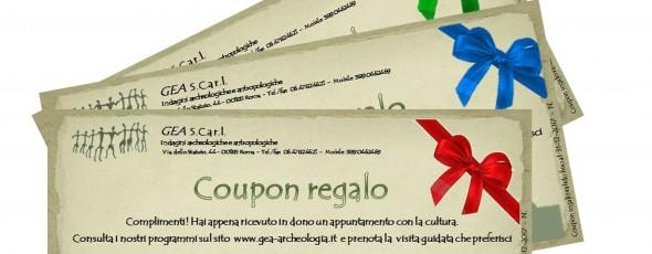 Idea regalo: coupon per partecipare alle visite guidate e ai laboratori didattici