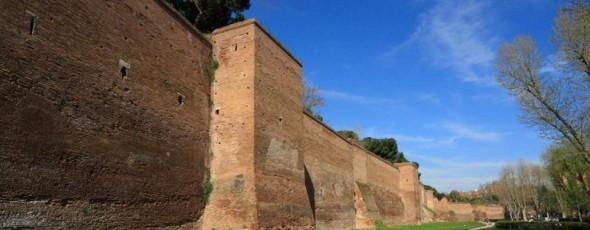 Le Mura Aureliane: da Porta Latina a Porta S.Sebastiano