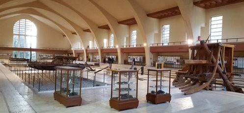 Il Museo delle Navi Romane a Nemi