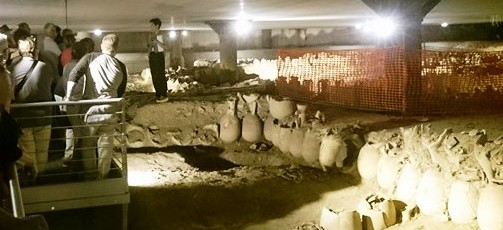 Area Archeologica sotto il Nuovo Mercato di Testaccio - APERTURA STRAORDINARIA