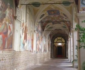 Il Chiostro del Convento di Santa Maria sopra Minerva