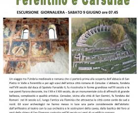 Ferentillo e Carsulae - Escursione giornaliera
