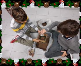 Piccoli Archeologi a caccia di indizi...sotto l'albero di Natale