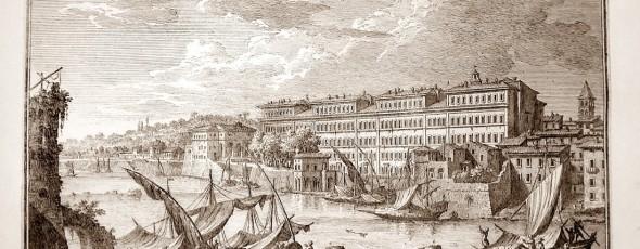 Le Strutture portuali della Roma papalina. L'Arsenale e il complesso di Ripa Grande